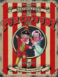Punch & Judy Plechová cedule