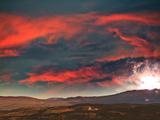 Particelstorm Mars 2120 Photographic Print by  Exploding Art