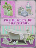 The Beauty of Bathing Tin Sign