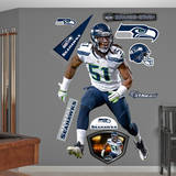 Bruce Irvin Wall Decal