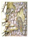 Treecreeper II Giclee Print by Friedhelm Weick