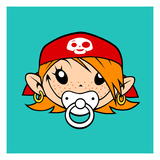 Little Pirate Prints by Volker Dornemann