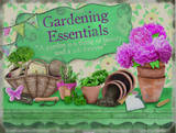 Gardening Essentials Tin Sign