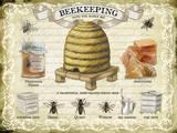 Beekeeping Plakietka emaliowana