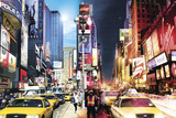 New York City - Times Square Day and Night Prints