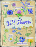 Wildflowers Tin Sign