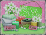 The Spa Tin Sign
