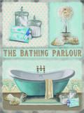 The Bathing Parlour Plaque en métal