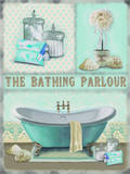 The Bathing Parlour Blikskilt