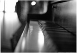 Piano Keys b/w Prints