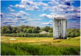 Golf Course and Silo Upstate NY Prints