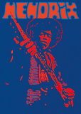 Hendrix Prints by Peter Marsh