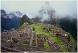 Machu Picchu Peru Plakat