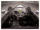 Ferrari F1 Vintage Quater Mile Holzschild