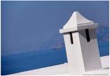 Rooftop in Amalfi Italy Overlooking Mediterranean Prints