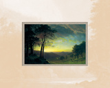 The Sacramento River Valley Posters by Albert Bierstadt
