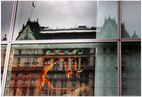 Plaza Hotel Reflection Prints