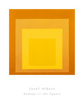 Homage To The Square Prints by Josef Albers