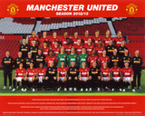 Manchester United 2012-13 Team Prints