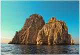 Rocks Off Coast of Island Capri, Italy Italy Posters