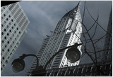 Chrysler Building Reflection Posters