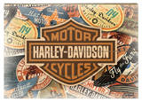 Harley-Davidson Panneau en bois