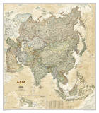 National Geographic - Asia Executive Map Laminated Poster Print by National Geographic