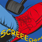 Screeechhh Posters by Deborah Azzopardi
