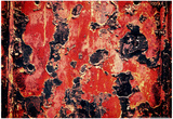Black and Red Rust Prints