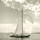 Sunlit Sails II Prints by Michael Kahn