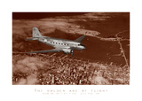 Mainline DC-3 Over San Francisco, 1939 Prints