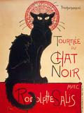 Le Chat Noir Affiches par Théophile Alexandre Steinlen