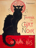 Le Chat Noir Prints by Theophile Steinlen
