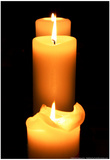 Candles in the Darkness Prints