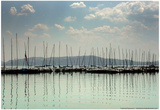 Maria on Lake Balaton Hungary Print