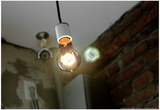 Coffee Shop Light Fixture West Village NYC Pósters