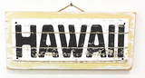 Hawaii Vintage Wood Sign