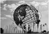 Unisphere at World's Fair Site Queens NY Prints