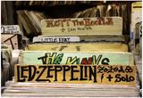 Bleeker Street Record Shop NYC Plakat