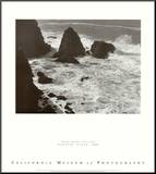 Pacific Vista Mounted Print by Ansel Adams