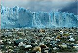 Rocky Glacier Beach Patagonia Argentina Posters