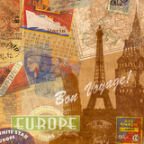 Destination, Europe Posters by Tom Frazier