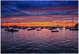 Colorful Sunset Newport Rhode Island Poster