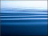Small Gentle Ripples Move Across the Calm Surface of the Arctic Ocean Mounted Photo by Norbert Rosing