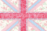 Union Jack, Home Sweet Home Posters af Sasha Blake