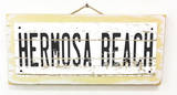 Hermosa Beach Vintage Wood Sign