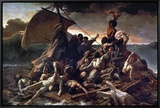 The Raft of the Medusa, 1819 Framed Canvas Print by Théodore Géricault