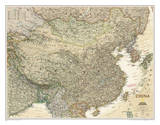 National Geographic - China Executive Map Laminated Poster Poster by National Geographic