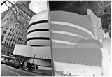 Guggenheim Reflection with Inversion Posters