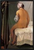 The Bather of Valpincon, 1808 Innrammet lerretstrykk av Jean-Auguste-Dominique Ingres